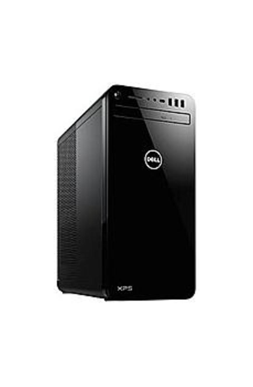 Dell XPS8930-7132BLK-PUS XPS 8930 Desktop PC - Intel Core i7-8700 3.2 GHz 6-Core Processor - 8 GB DDR4 SDRAM - 16 GB Intel Optane Memory - 1 TB Hard D