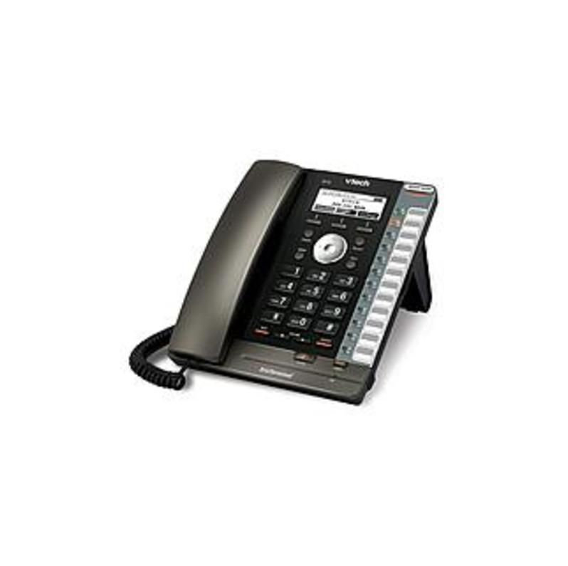 VTech ErisTerminal VQ9738 VSP725 DECT 6.0 Wireless VoIP Phone - SIP - Desktop, Wall Mountable