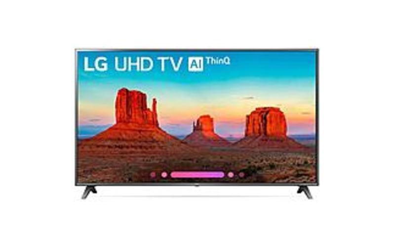 70-inch 4K Ultra HD HDR Smart LED TV - 3840 x 2160 - 60 Hz, TruMotion 120 - HDMI, USB - LG Electronics 70UJ6570