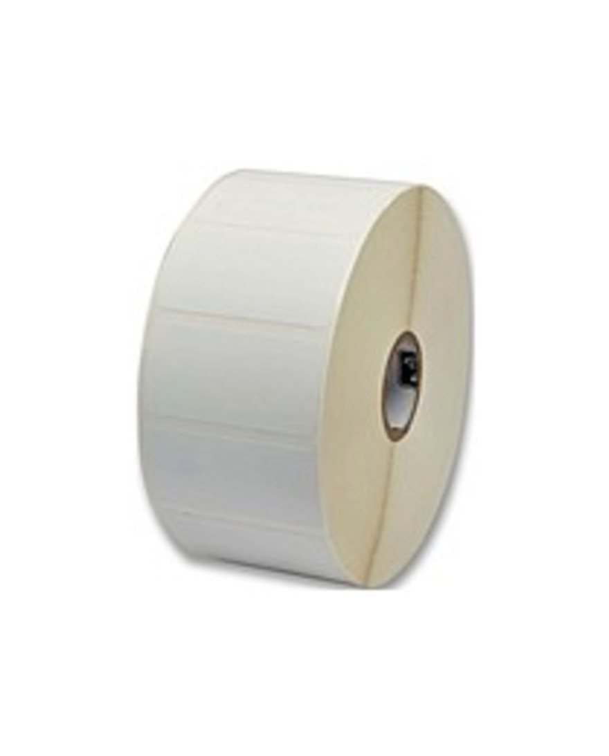 "Zebra_Z-Perform_2000D_Thermal_Label_-_Permanent_Adhesive_-_1_1_4""_Width_x_1""_Length_-_Direct_Thermal_-_White_-_Paper,_Acrylic_-_2340___Roll_-_6_Roll"