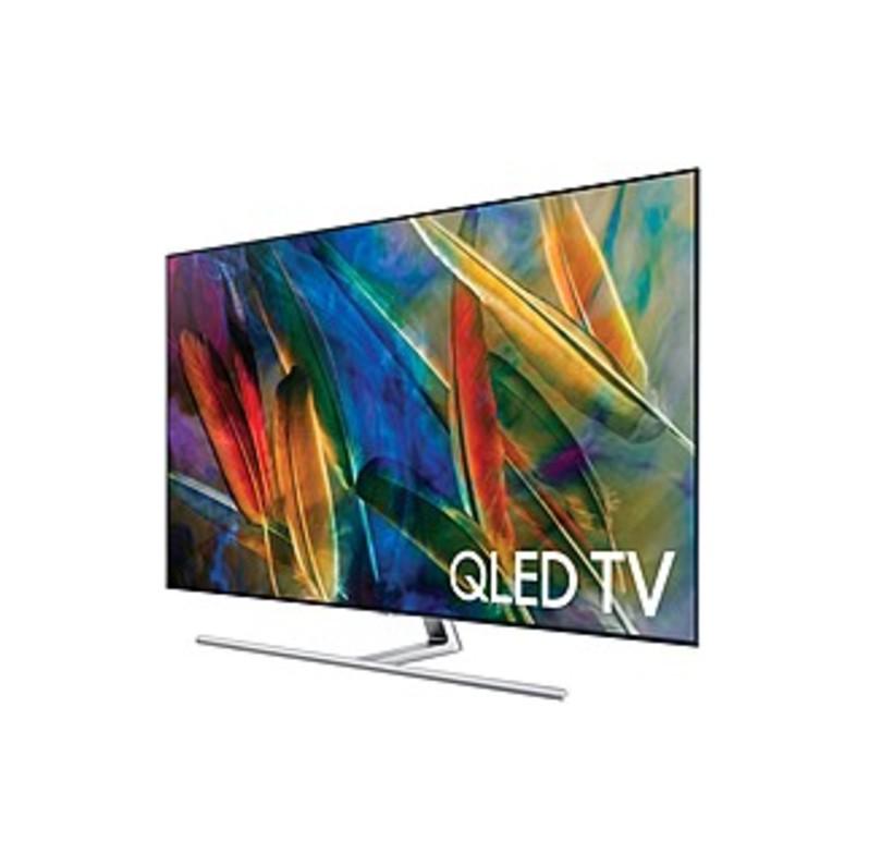 Samsung Q7F QN75Q7FAMF 75-inch 4K Ultra HD LED Smart TV - 3840 x 2160 - 240 Motion Rate - 4K Elite Black - Wi-Fi - HDMI