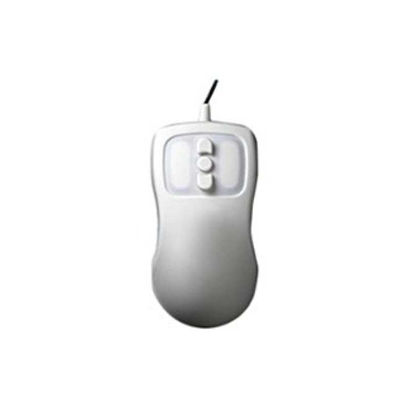 Man & Machine Petite Mouse - Optical - Cable - White - USB - Scroll Button - 5 Button(s)