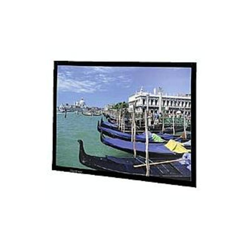 "Da-Lite Perm-Wall Fixed Frame Projection Screen - 54"" x 96"" - Cinema Vision - 110"" Diagonal"