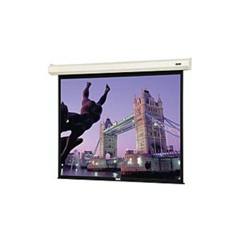 "Da-Lite Cosmopolitan Electrol Projection Screen - Matte White - 92"" Diagonal"