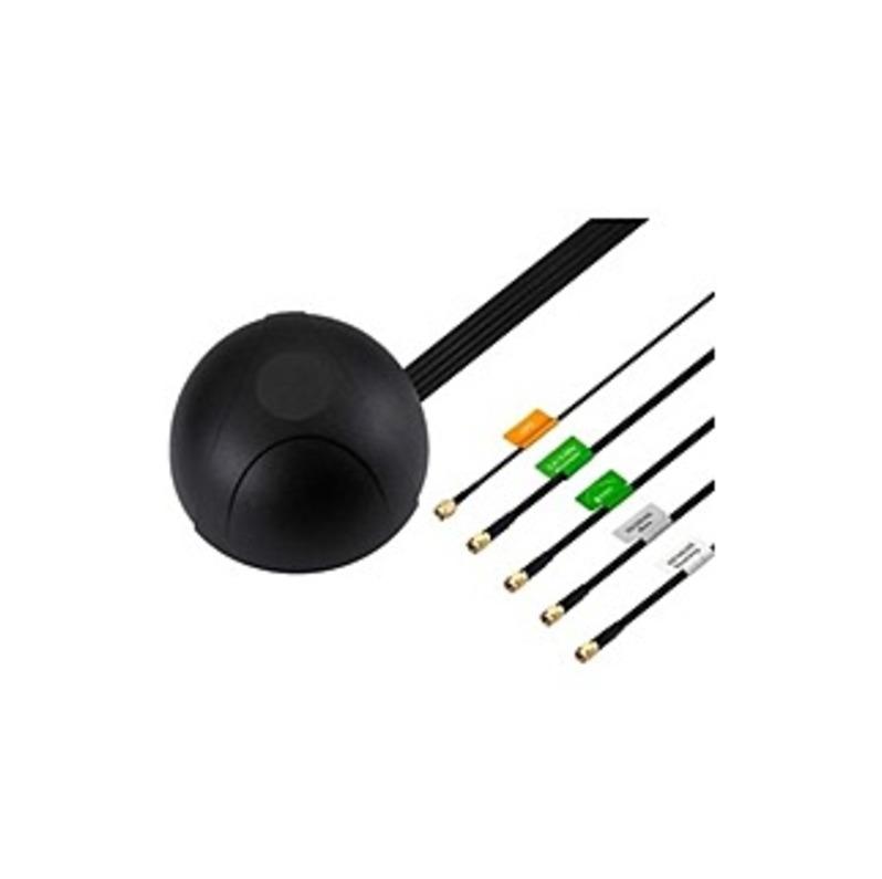 CradlePoint 5-in-1 GPS, Modem & WiFi Screw-mount - Range - UHF, SHF - 698 MHz, 1.71 GHz, 2.30 GHz, 2.90 GHz, 1.58 GHz to 960 MHz, 2.17 GHz, 2.70 GHz,