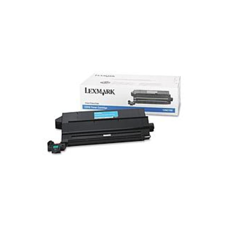 Lexmark Original Toner Cartridge - Laser - 14000 Pages - Cyan - 1 Each