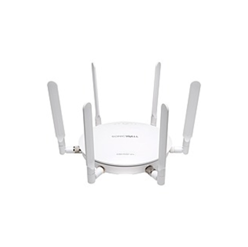 SonicWALL SonicPoint ACe w/o PoE Injector 24x7 Support - 2.47 GHz, 5.83 GHz - 6 x Antenna(s) - 6 x External Antenna(s) - MIMO Technology - 2 x Network