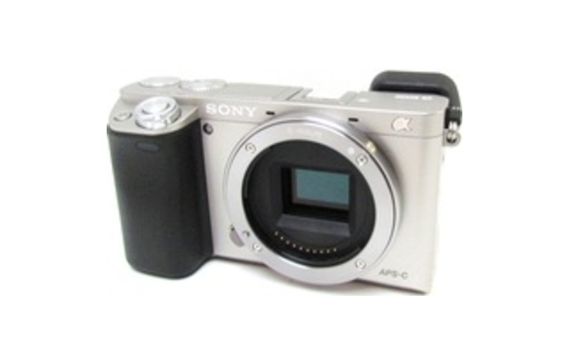 Sony Alpha a6000 Mirrorless Camera (Body Only) Silver ILCE6000/S