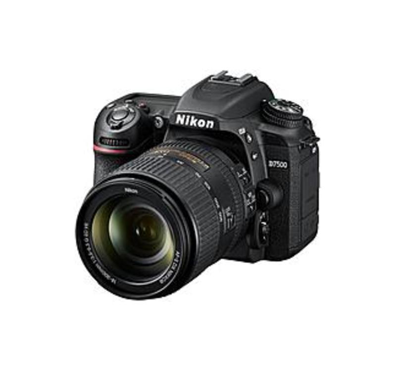 "Image of Nikon D7500 20.9 Megapixel Digital SLR Camera with Lens - 18 mm - 300 mm - Black - 3.2"" Touchscreen LCD - 16.7x Optical Zoom - Digital (IS) - 5568 x 3"