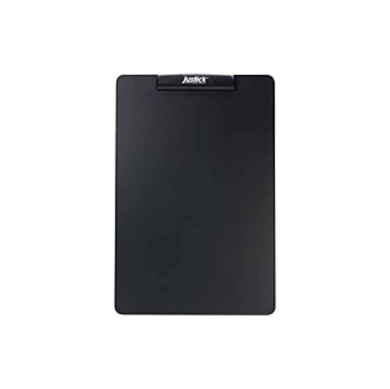"Justick_Black_Frameless_Mini_Electro_Bulletin_Board_-_24""_Height_x_16""_Width_-_Black_Justick_Electro_Adhesion_Surface_Technology_-_1_Each"