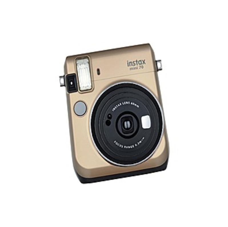 Fujifilm Instax Mini Instant Film Camera - Instant Film - Gold