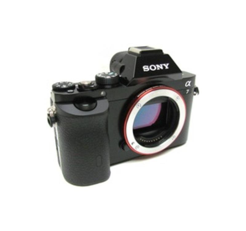 Sony Alpha a7 Mirrorless Camera (Body Only) Black ILCE7/B