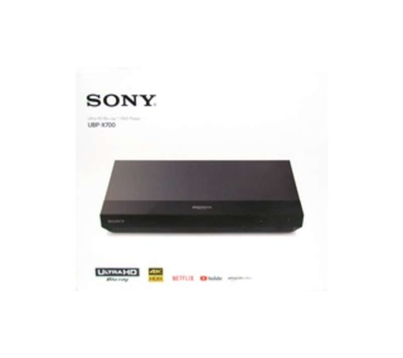 Sony UBP-X700 1 Disc(s) Blu-ray Disc Player - 2160p - Black - Dolby Atmos, Dolby TrueHD, DTS:X, DTS - BD-RE, DVD+RW, DVD-RW, CD-RW - DVD Video, BD Vid
