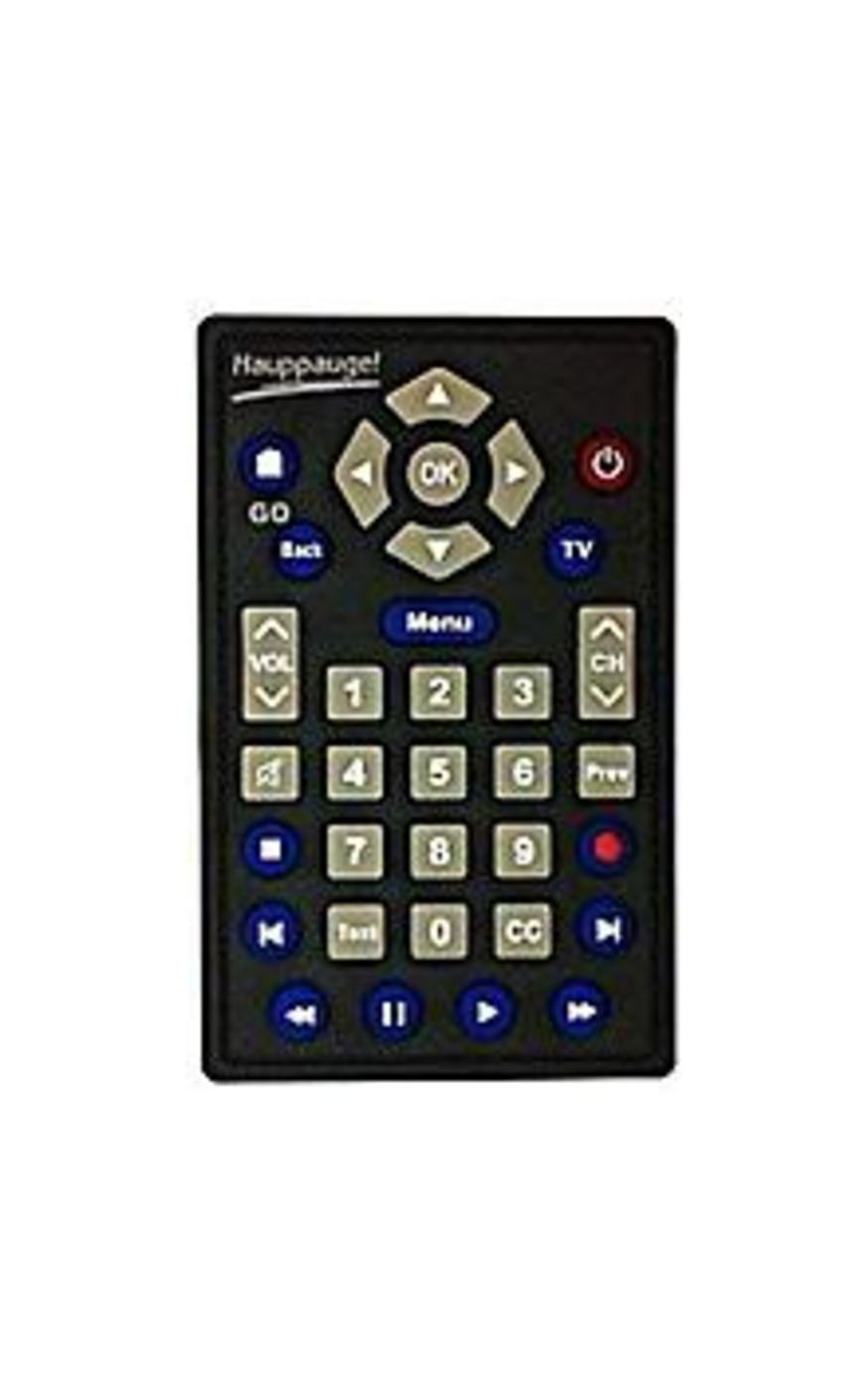 Hauppauge R-005 Remote Control with Cr-2025 Battery for 955Q Hybrid TV Stick