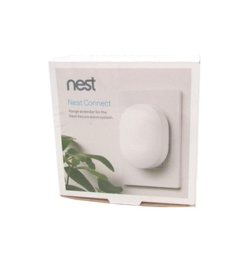 Nest H17000EF Connect Range Extender for Secure Alarm System - White