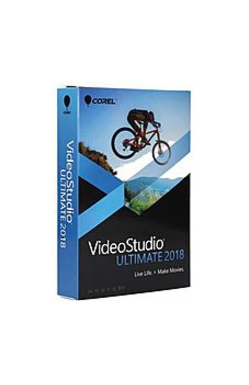 Corel VS2018UMLMBAMC VideoStudio Ultimate 2018 Video and Movie Editing Software for Windows