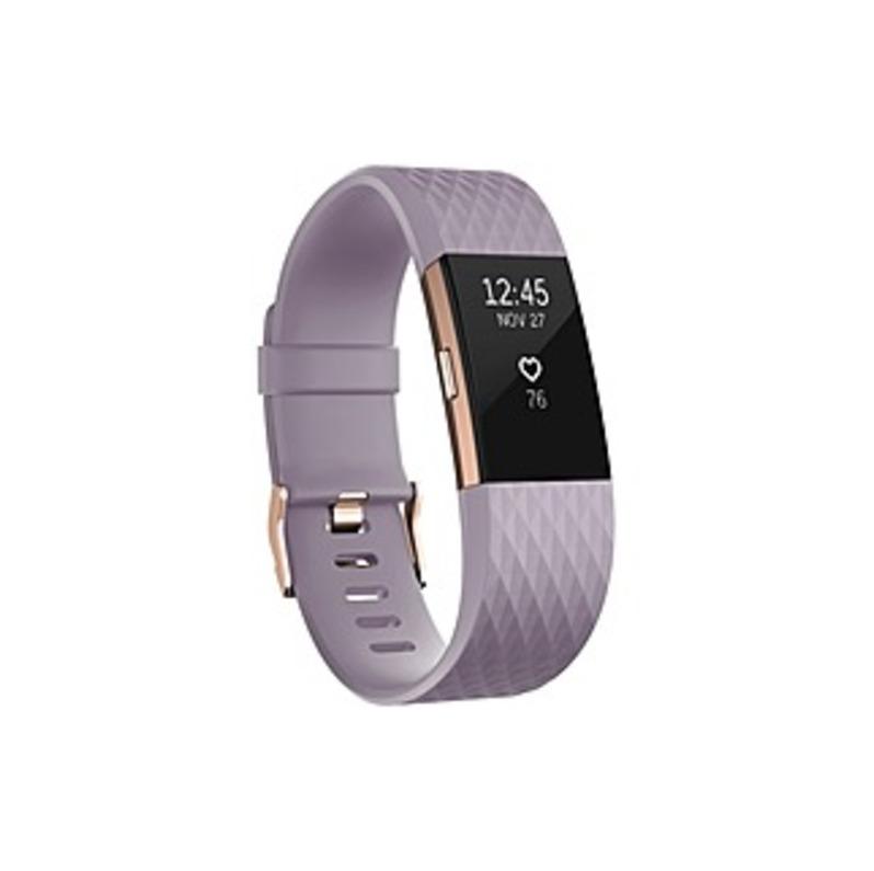Fitbit Charge 2 Smart Band - Wrist - Accelerometer, Altimeter, Optical Heart Rate Sensor - Calendar, Silent Alarm, Alarm, Text Messaging - Heart Rate,