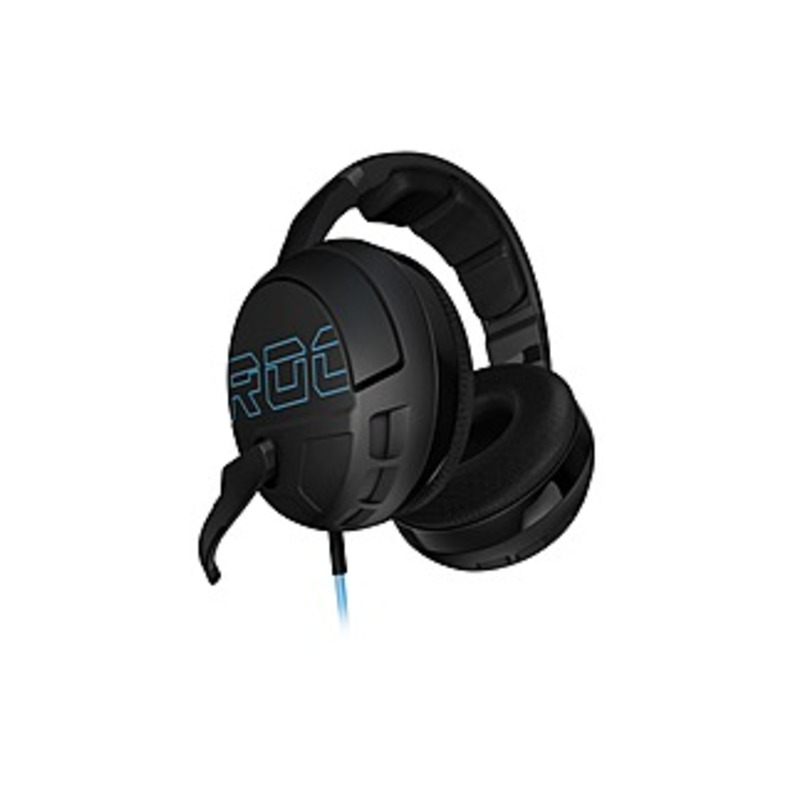 Roccat Kave XTD Headset - Stereo - Mini-phone - Wired - 32 Ohm - 20 Hz - 20 kHz - Over-the-head - Binaural - Circumaural - 8.20 ft Cable - Noise Cance