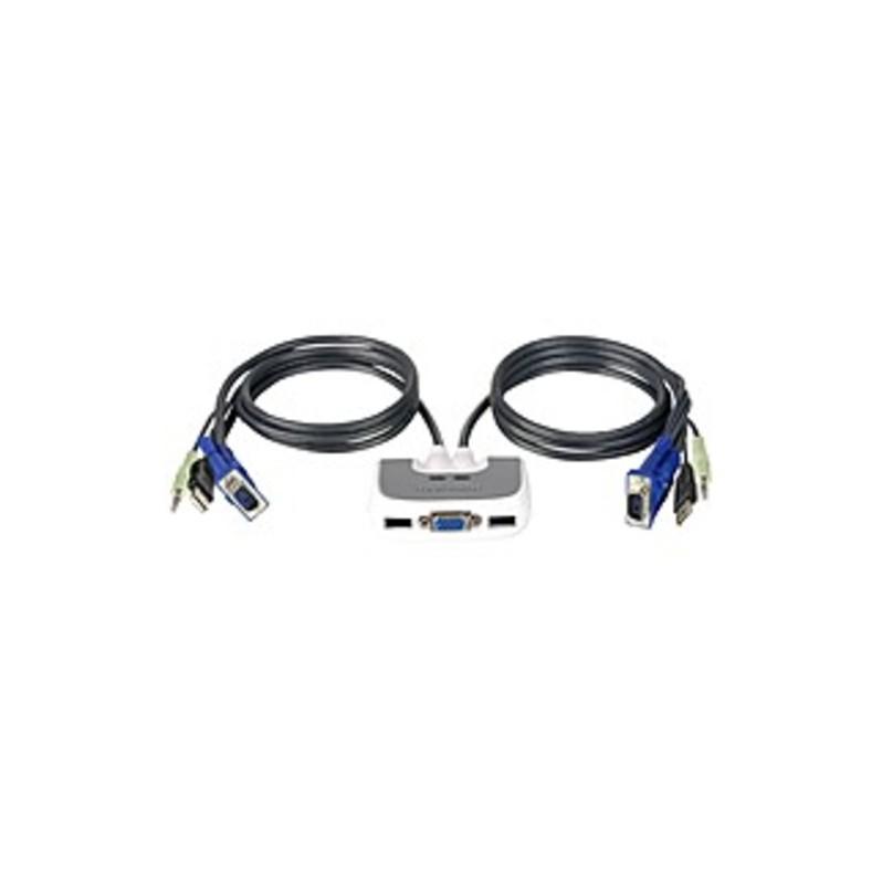 IOGEAR MiniView KVM Switch - 2 x 1