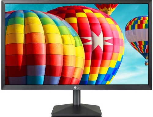 24-inch Class IPS LED Monitor with AMD FreeSync - 1920 x 1080 (Full HD) - 1000:1 - 75 Hz - HDMI, D-Sub - Black - LG Electronics 24MK430H-B