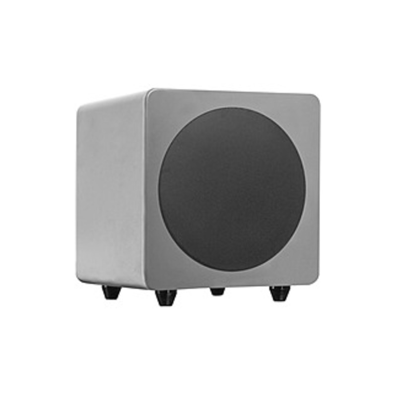 Kanto SUB8 Subwoofer System - 250 W RMS - Matte Gray - 35 Hz - 175 Hz