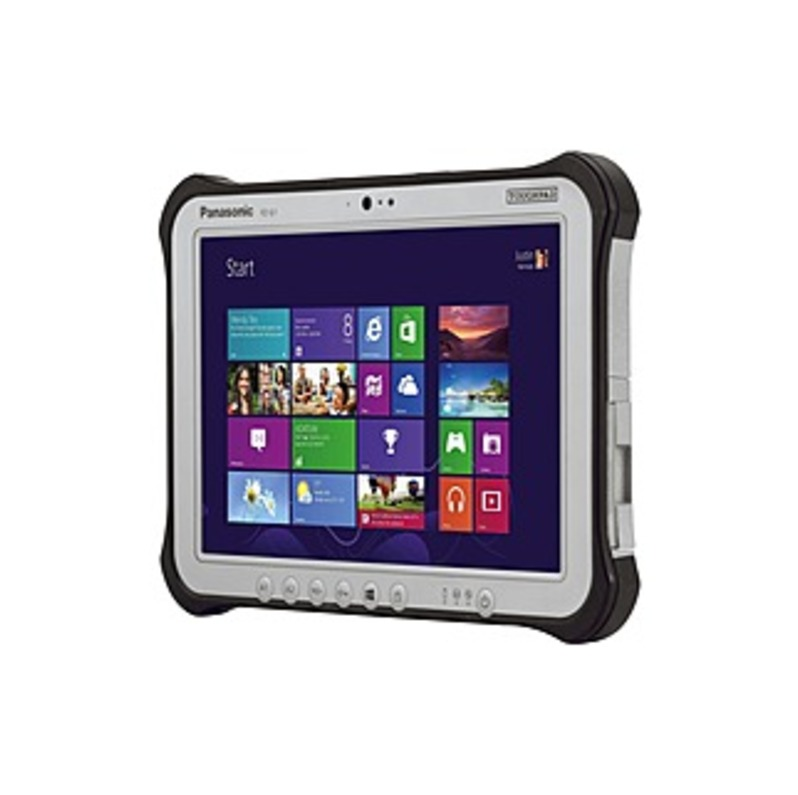 "Panasonic Toughpad FZ-G1J0537CM Tablet - 10.1"" - 8 GB - Intel Core i5 (5th Gen) i5-5300U Dual-core (2 Core) 2.30 GHz - 128 GB SSD - Windows 7 upgradab"