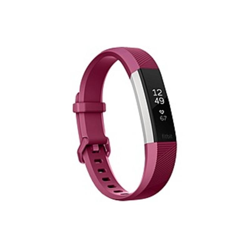 Fitbit Alta HR Heart Rate + Fitness Wristband - Wrist - Accelerometer, Heart Rate Monitor - Calendar, Clock Display, Silent Alarm, Alarm, Text Messagi