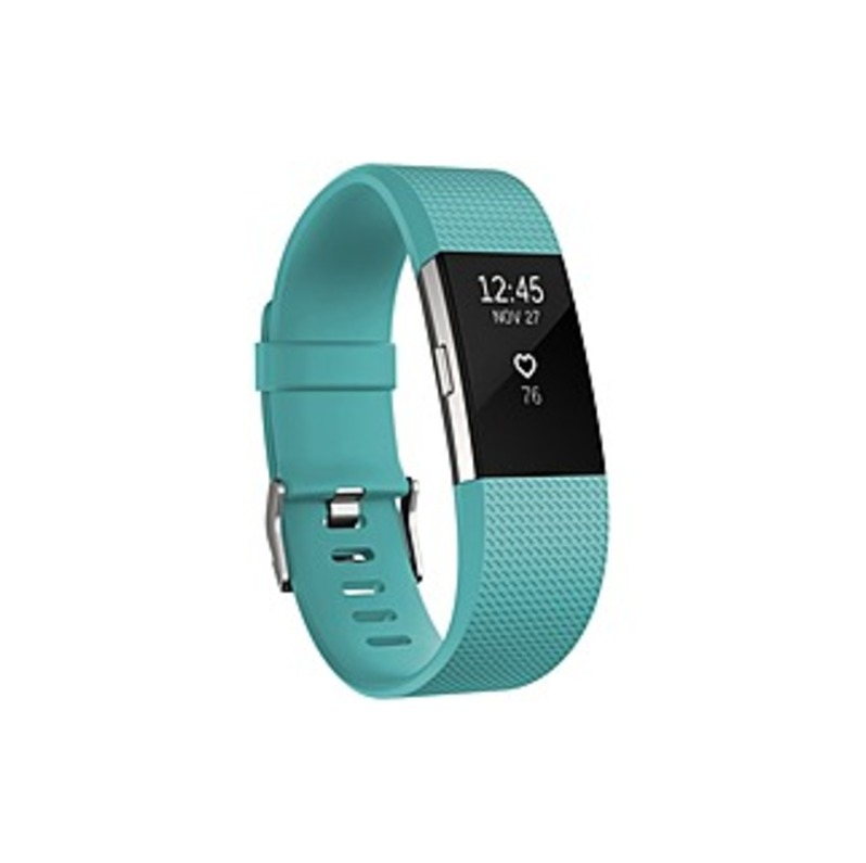 Fitbit Charge 2 Smart Band - Wrist - Accelerometer, Altimeter, Optical Heart Rate Sensor - Calendar, Silent Alarm, Alarm, Text Messaging - Heart Rate,