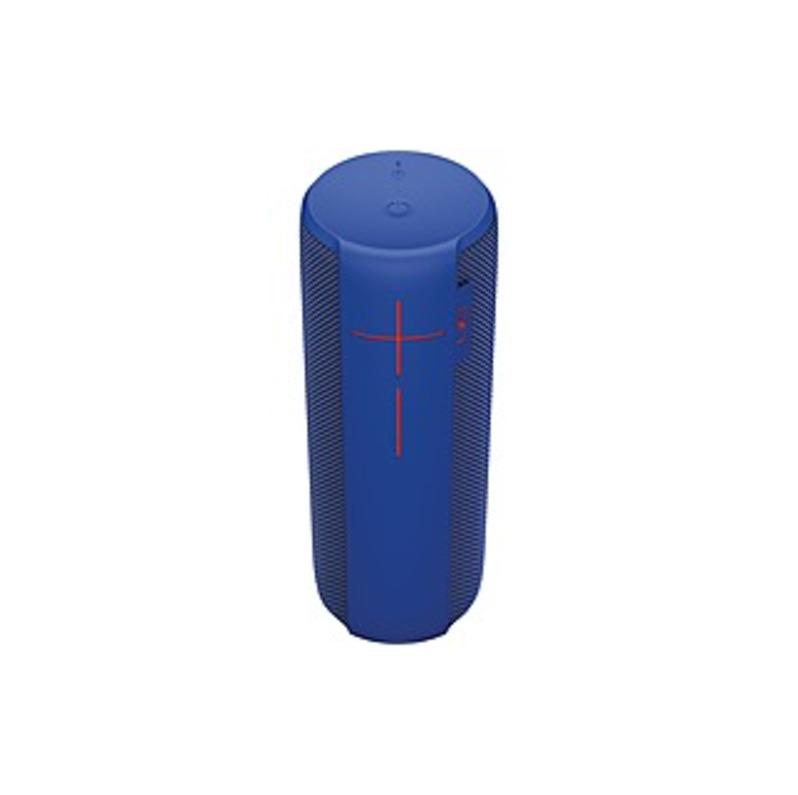 Ultimate Ears MEGABOOM Speaker System - Wireless Speaker(s) - Portable - Battery Rechargeable - Blue - 65 Hz - 20 kHz - Bluetooth - Near Field Communi