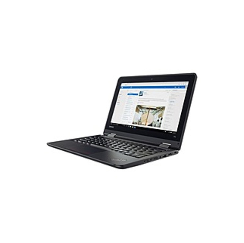 "Lenovo ThinkPad 11e 20J00000US 11.6"" LCD Chromebook - Intel Celeron N3450 Quad-core (4 Core) 1.10 GHz - 4 GB LPDDR4 - 32 GB Flash Memory - Chrome OS -"