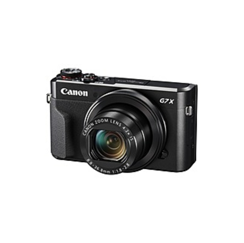 "Canon PowerShot G7 X Mark II 20.1 Megapixel Compact Camera - 3"" Touchscreen LCD - 16:9 - 4.2x Optical Zoom - 4x - Optical (IS) - TTL - 5472 x 3648 Ima"