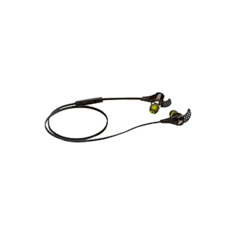 JayBird BlueBud X Earset - Stereo - Midnight Black - Wireless - Bluetooth - 16 Ohm - 20 Hz - 20 kHz - Earbud - Binaural - In-ear