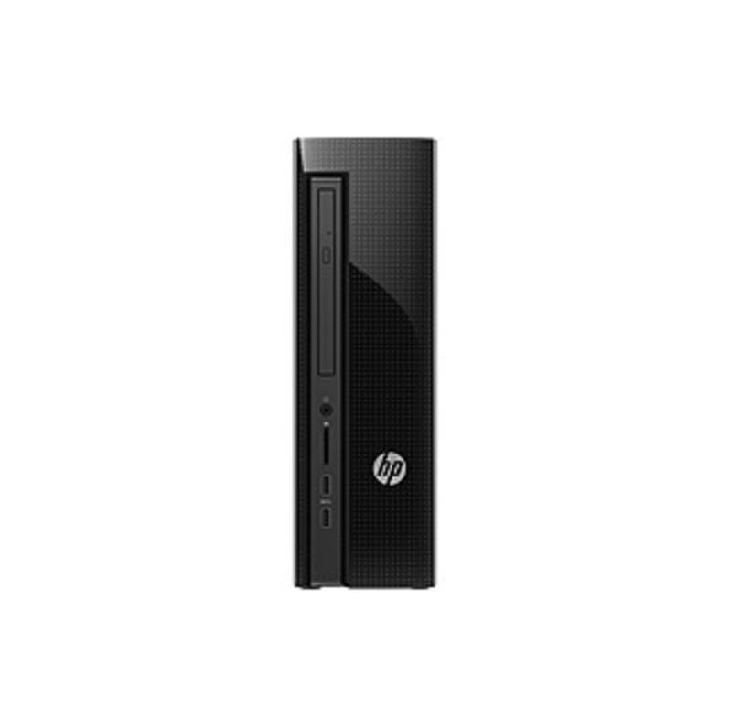 HP Slimline 450-a100 450-A120 Desktop Computer - AMD E-Series E1-6015 1.40 GHz - 4 GB DDR3 SDRAM - 500 GB HDD - Windows 10 Home 64-bit - Desktop Sliml