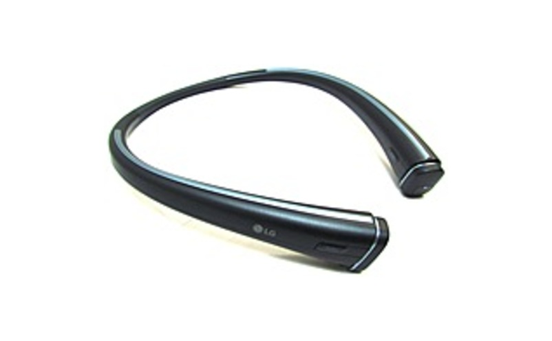 LG Electronics HBS-F110ATARBKI Bluetooth Wireless Headset with Mic and Neckband - In-ear - Black
