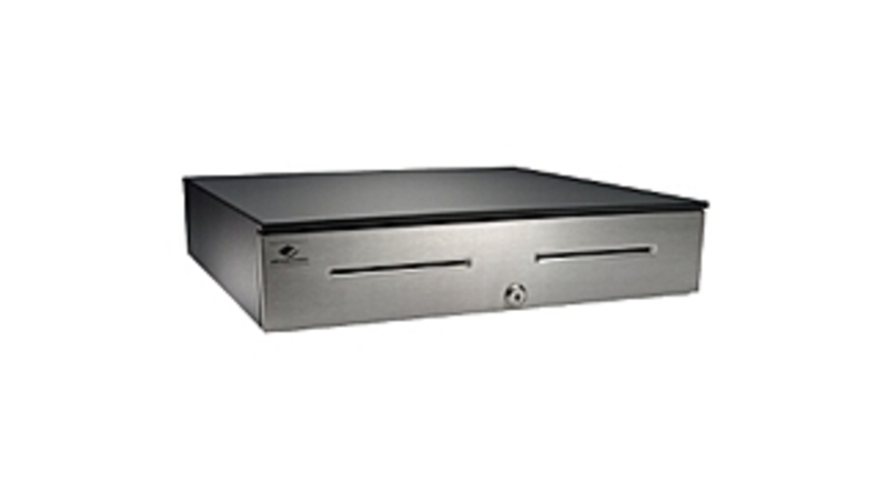 APG Cash Drawer Series 4000 JB186-6A-BL1816-C Cash Drawer - Black