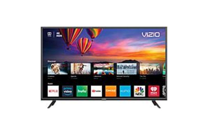 VIZIO E E50-F2 50-inch 4K HDR Ultra HD LED Smart TV - 3840 x 2160 - Clear Action  240 - Virtual Surround, DTS Studio Sound II - Wi-Fi - HDMI