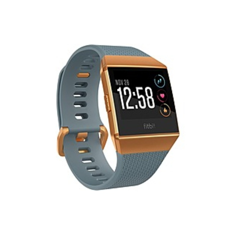 Fitbit Ionic Watch - Wrist - Optical Heart Rate Sensor, Accelerometer, Gyro Sensor, Altimeter, Ambient Light Sensor - Sleep Monitor, Music Player, Tex