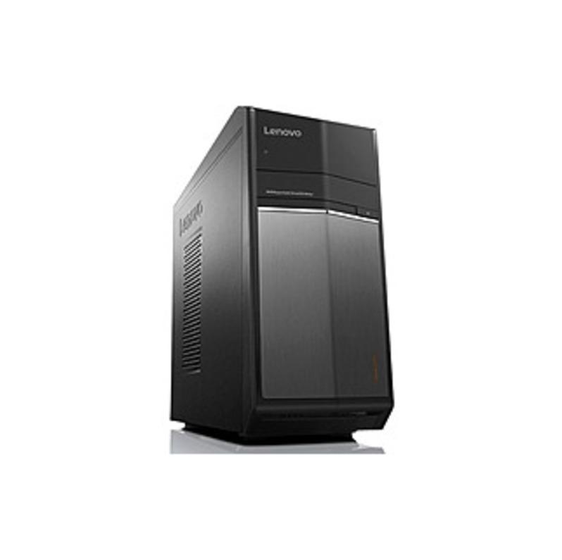 Lenovo IdeaCentre 710-25ISH 90FB000CUS Desktop Computer - Intel Core i7 (6th Gen) i7-6700 3.40 GHz - 8 GB DDR4 SDRAM - 1 TB HDD - 128 GB SSD - Windows