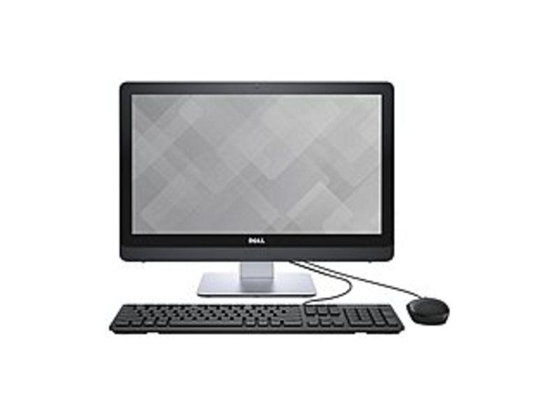 Dell Inspiron 22 3000 I3263-8500BLK All-in-One Desktop PC - Intel Core i3-6100U 2.3 GHz Dual-Core Processor - 8 GB DDR RAM - 1 TB Hard Drive - 21.5-in