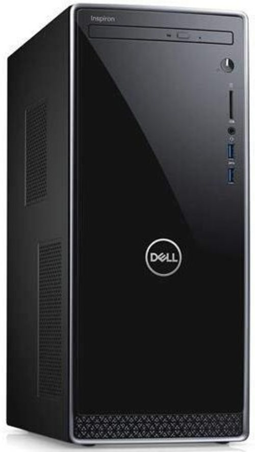 Dell Inspiron 3670 I3670-3828BLK-PUS Desktop PC - Intel Core i3-8100 3.6 GHz Quad-Core Processor - 8 GB DDR4 SDRAM - 1 TB Hard Drive - Windows 10 Home
