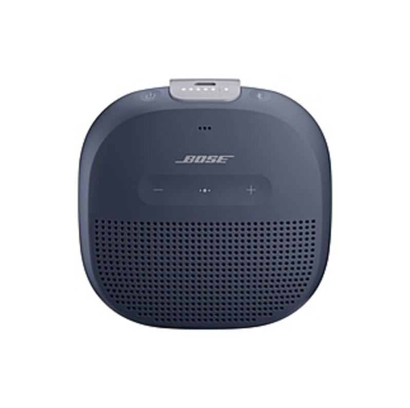 SoundLink SoundLink Micro Smart Speaker - Wireless Speaker(s) - Portable - Battery Rechargeable - Dark Blue - Bluetooth - Passive Radiator, USB Chargi