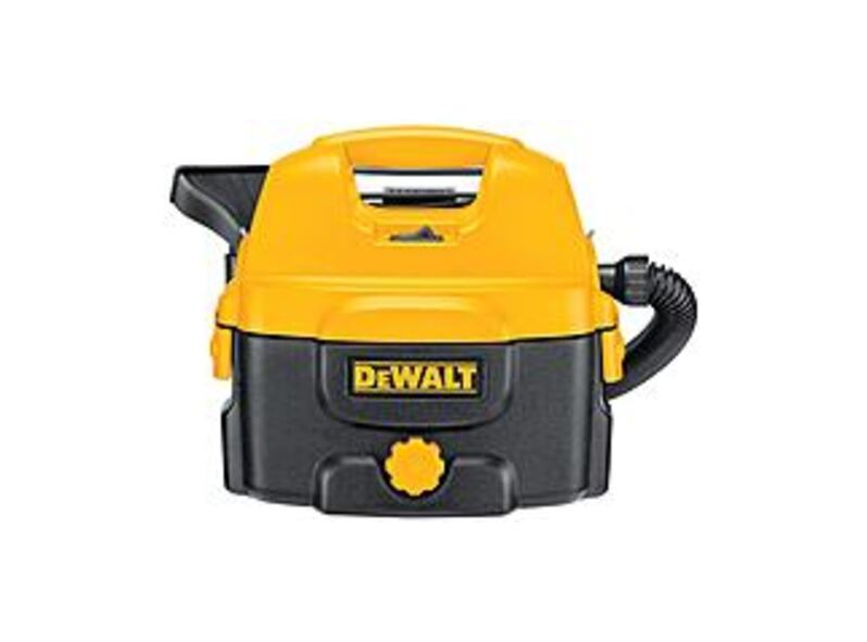 DEWALT DC500 240 V Wet and Dry Vacuum Cleaner - Yellow