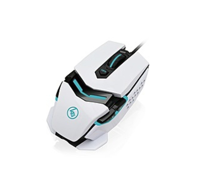 IOGEAR Kaliber Gaming Fokus Pro Laser Gaming Mouse - Laser - Cable - USB 2.0 - 8200 dpi - Scroll Wheel - 8 Button(s) - Symmetrical