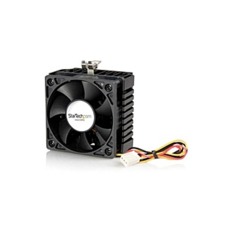 StarTech.com 65x60x45mm Socket 7/370 CPU Cooler Fan w/ Heatsink & TX3 connector - Processor cooler - ( Socket 370, Socket 7 ) - 58mm - 4000rpm