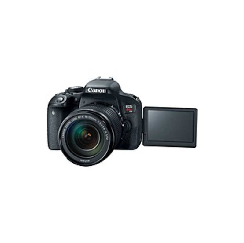 """Canon EOS Rebel T7i 24.2 Megapixel Digital SLR Camera with Lens - 18 mm - 135 mm - 3"""" Touchscreen LCD - 16:9 - 7.5x Optical Zoom - Optical (IS) - E-TT"""