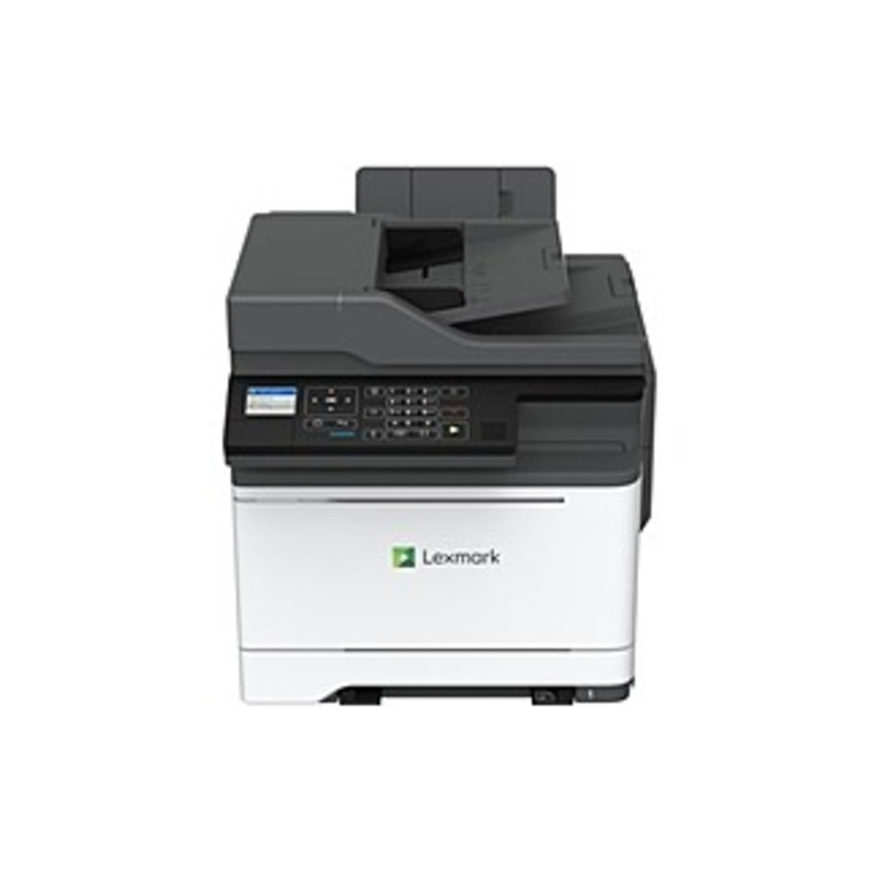 Lexmark CX421adn Laser Multifunction Printer - Color - Plain Paper Print - Desktop - Copier/Fax/Printer/Scanner - 25 ppm Mono/25 ppm Color Print - 240 (42C7330_C2 42C7330) photo