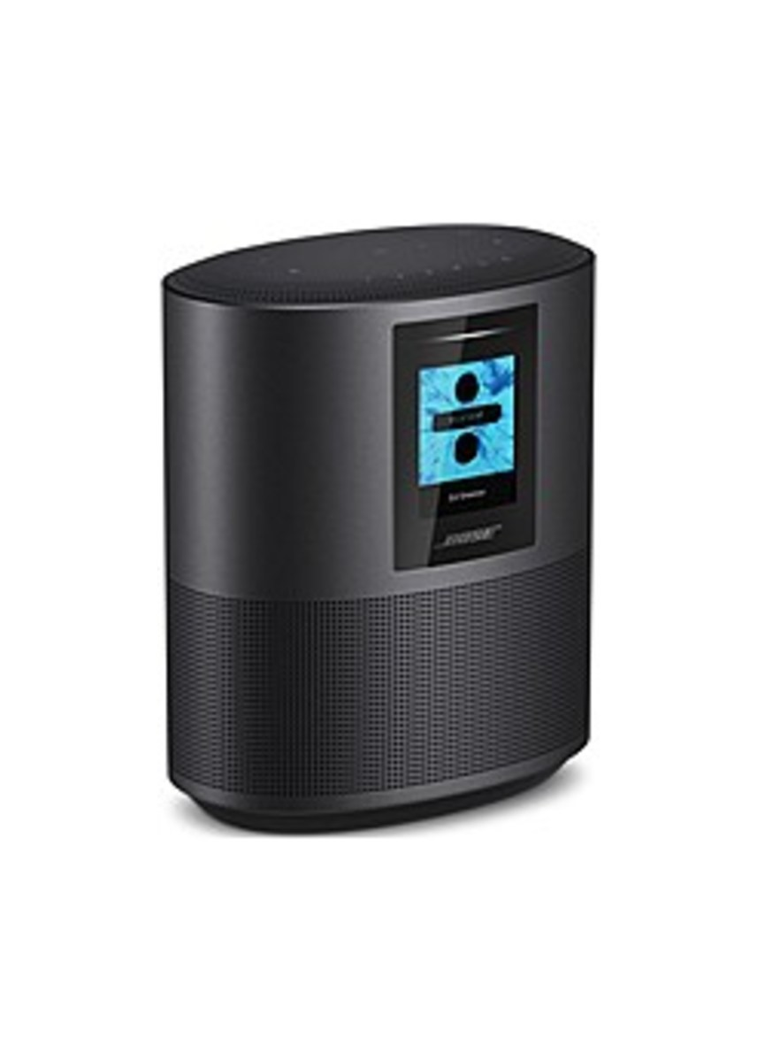Bose 795345-1100 Home Speaker 500 Wireless Speaker with Built-In Alexa Voice Control - Black