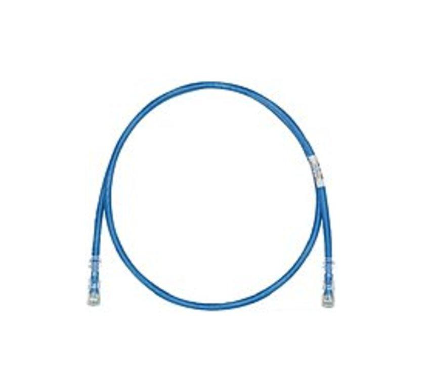 http://www.techforless.com - PANDUIT TX6 Plus Cat.6 UTP Patch Cable – RJ-45 Male Network – RJ-45 Male Network – 5ft – Blue 6.49 USD