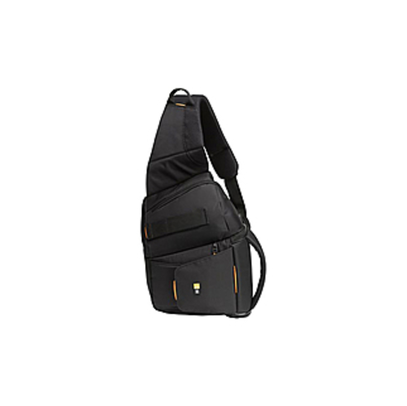 "Case Logic SLRC-205 SLR Sling Backpack - 14.75"" x 4.5"" x 3.75"" - Nylon - Black"