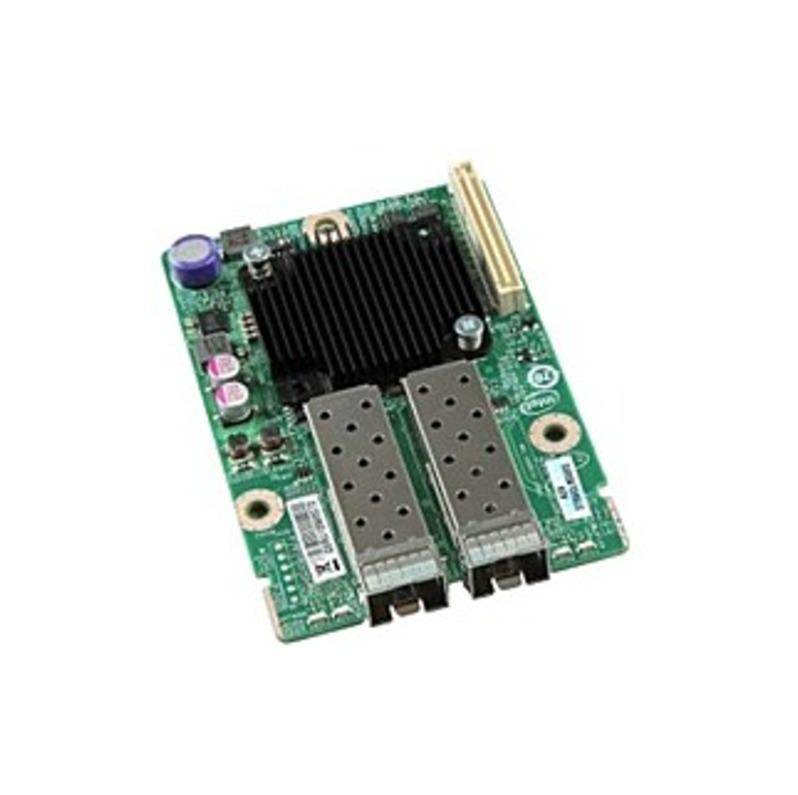 Intel Dual Port Intel 82599EB 10GbE I/O Module AXX10GBNIAIOM - 2 x SFP+ 2 x Expansion Slots